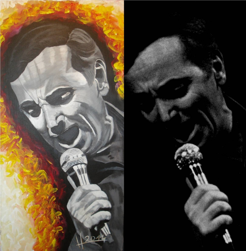 Charles Aznavour by lhommeloiret
